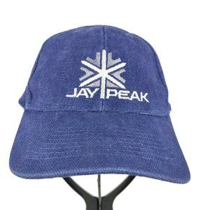Vintage Jay Peak Vermont Skiing Resort Cap Hat
